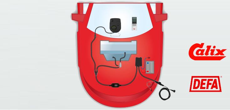 slideshow item Lappeenrannan autosähköstä saat asennettuna Calix- ja Defa-lämmitysjärjestelmät
